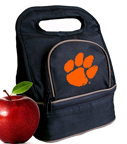 Broad Bay Clemson University Lunch Bag Clemson Tigers Lunch Box - 2 Sections!