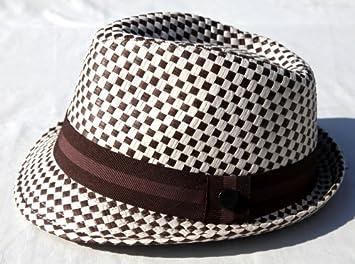 Northern soul   Ska Check Trilby Hat - Size 56cm  Amazon.co.uk ... 44505e7d36e