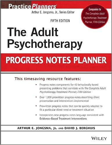 Psycherapy Progress Note Template | Amazon Com The Adult Psychotherapy Progress Notes Planner