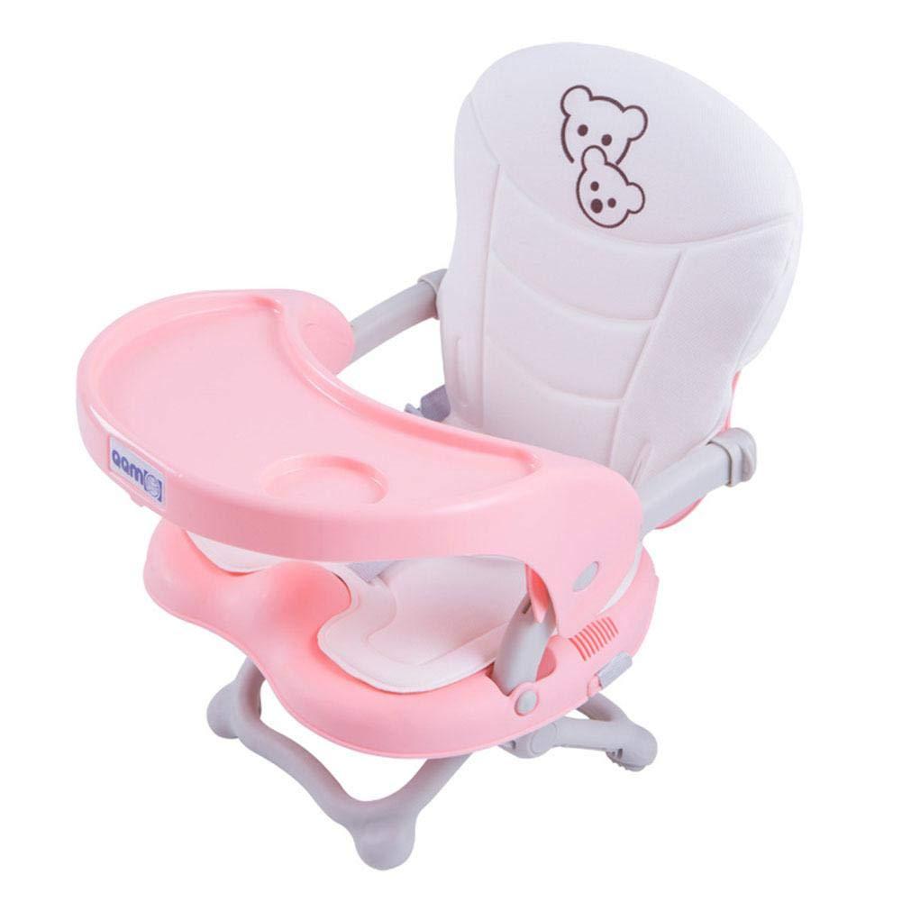 Portable Kinder Esszimmerstuhl Baby Essen Stuhl Multi Funktion Einstellbare Hö he Snack Booster Sitz Outdoor Baby Tischsitz mit Kissen fü r Home Travel Camping iPenty