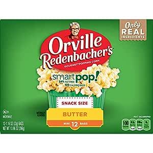 Orville Redenbacher's SmartPop! Butter Microwave Popcorn,13.96 Oz,Pack of 6