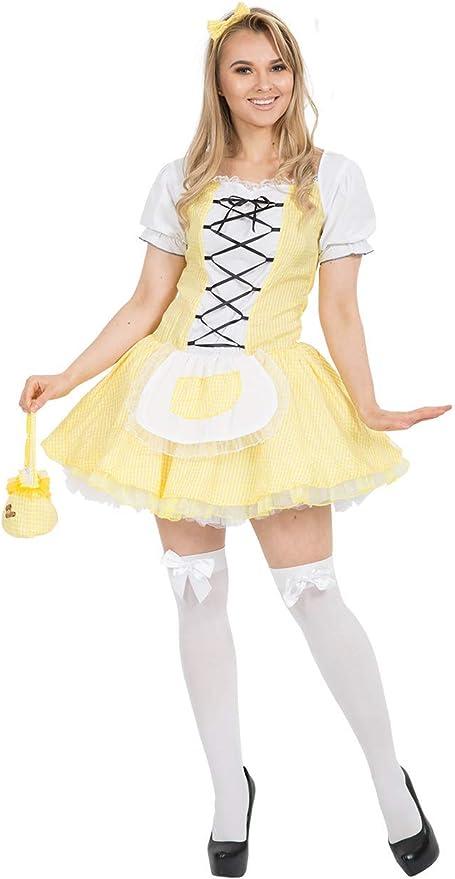Adult Goldilocks Fancy Dress Costume: Amazon.es: Ropa y accesorios