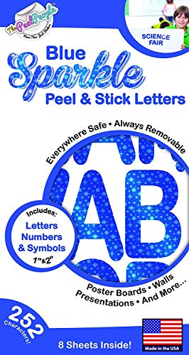 Peel And Stick Letters - 1