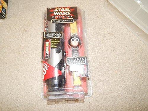 - Qiyun Star Wars Episode 1 Collector Watch Anakin Skywalker Lightsaber Display Case