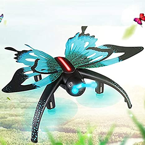 JJRC H42 Quadcopter Drone Butterfly Shape Toy WiFi FPV 0.3MP Smartphone App LED: Amazon.es: Electrónica