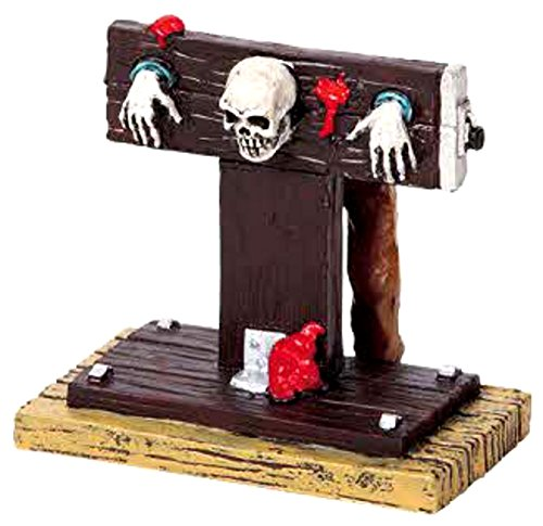 Lemax 2009 Spooky Town In the Stocks Halloween Village Figurine 92611