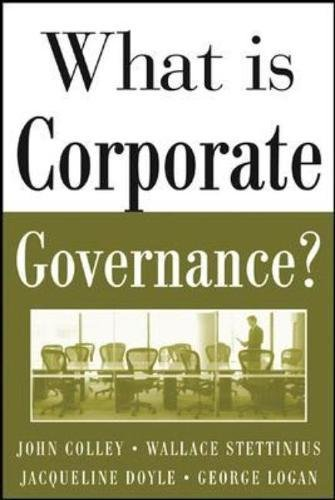 What Is Corporate Governance? (THE MCGRAW-HILL What Is)
