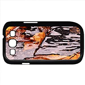 Fall and Float (Forests Series) Watercolor style - Case Cover For Samsung Galaxy S3 i9300 (Black)