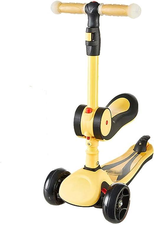 Scooters - Monopatín para niños y niñas, Plegable, con Rueda de ...