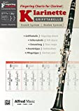 Grifftabelle Für Klarinette Boehm-system/ Fingering Charts for Clarinet-french System