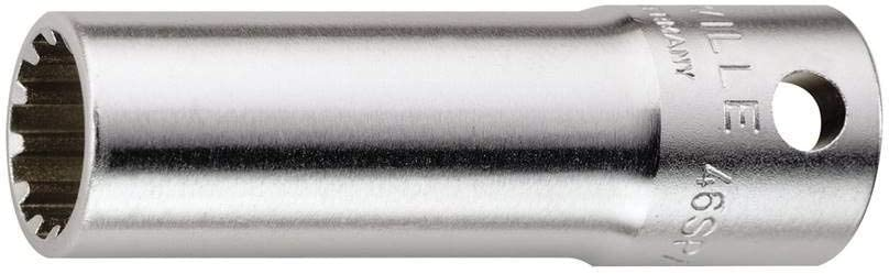 7//16 inch Size 3//8 inch Drive Stahlwille 02021014 46ASP High Performance Steel Sockets Spline-Drive 54 mm Length