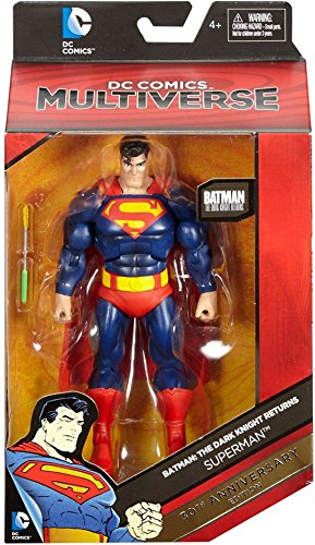 Bat Dark Knight (DC Comics Multiverse, Batman: The Dark Knight Returns 30th Anniversary Edition Superman Action Figure)