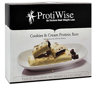 ProtiWise - Cookies & Cream High Protein Diet Bars
