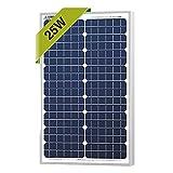 Cheap 25 Watts Monocrystalline Newpowa 12v Mono Solar Panel Module 20W < 25W < 30W Rv Marine Boat Off Grid
