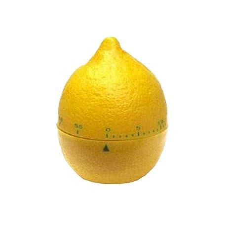 Temporizador de cocina con alarma, de 60 minutos en forma de limón