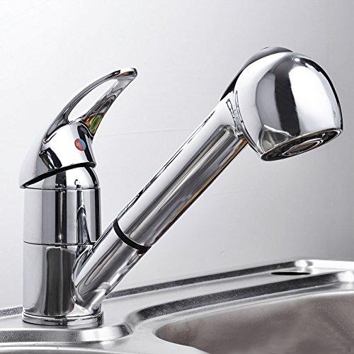 Baytter Einhebel Waschtischarmatur Wasserhahn Spültisch Küche Waschtisch Waschenbecken Bad
