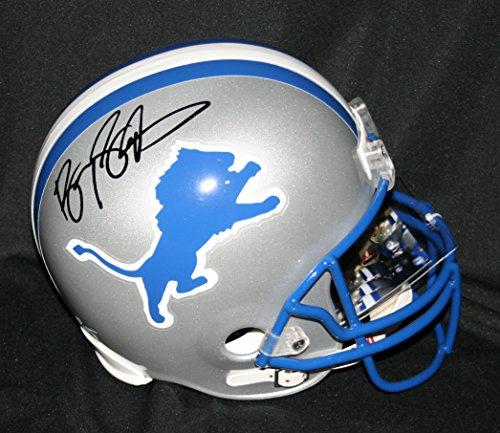 BARRY-SANDERS-Signed-Detroit-Lions-Replica-Helmet-Autograph-Auto-PSA-DNA