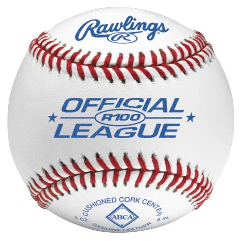 R100-Ohio 1 Doz Rawlings Official High School Baseball With Ohio - American Baseball Rawlings League