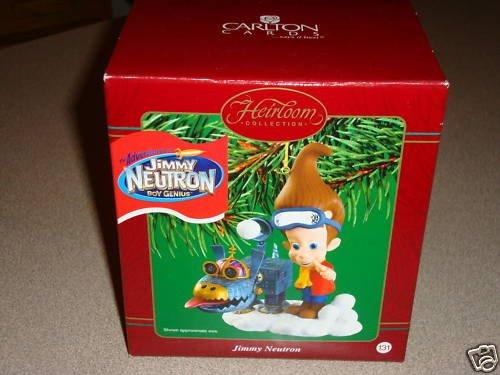 Jimmy Neutron Boy Genius 2002 Carlton Cards Christmas Ornament (A Neutron Jimmy Christmas)