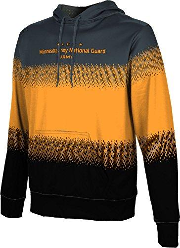 Men's Minnesota Army National Guard Military Drip Hoodie Sweatshirt (Apparel) (Minnesota National Guard)