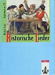 Historische Lieder. Begleitbuch zur CD