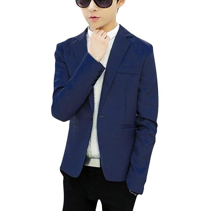 Chaqueta De Traje De Adolescente De Los Hombres Chaqueta Tamaños Cómodos De Vestir De Los Hombres
