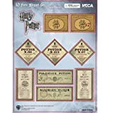Harry Potter Half Blood Prince 10 Piece Potion Label Magnet Set