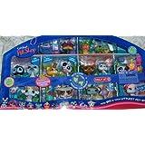 Hasbro - Littlest Pet Shop - Les Petshop autour du monde - Bébé léopard et zèbre - #388,#392