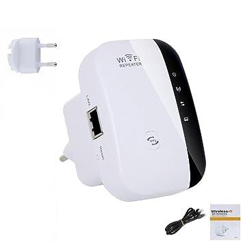 Repetidor WiFi 300 Mbit High Speed WiFi Router WiFi Repetidor Amplificador de señal