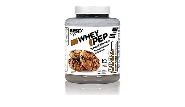 WHEY PEP 80% 2268Kg (Proteina hidrolizada) sabor cookies ...