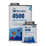 vacuum resin infusion - System 4500 Infusion Epoxy Resin - 40 Minute Pot Life - Quart Kit