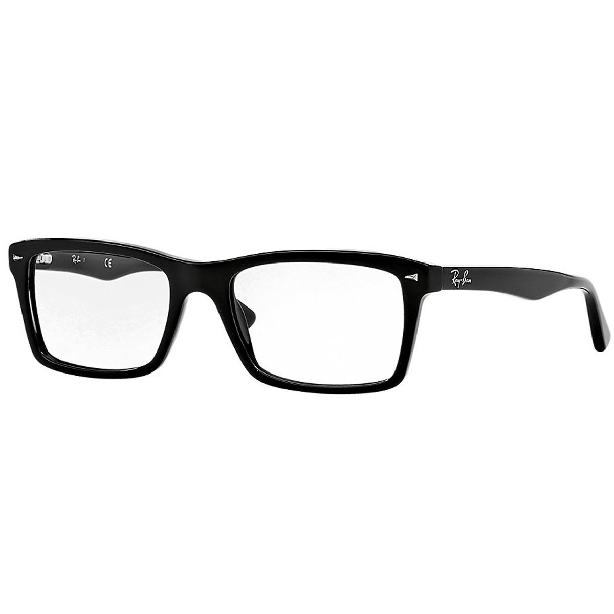 Ray-Ban Glasses 5287 2000 Black 5287 Rectangle Sunglasses