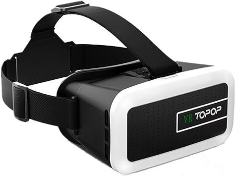 TOPELEK 3D Gafas de Realidad Virtual, VR Gafas para Ver 3D Vídeo ...