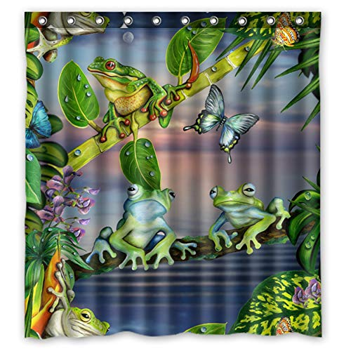 frog shower curtain - 1
