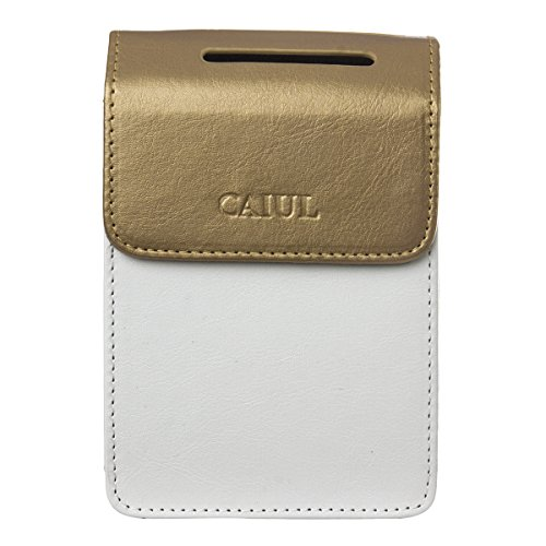 CAIUL Compatible SP-2 PU Leather Case for Fujifilm INSTAX SHARE SP-2 Smart Phone Printer (Gold) -