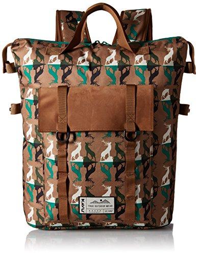 KAVU Rainier Rucksack Bag, Wild Buck, One Size