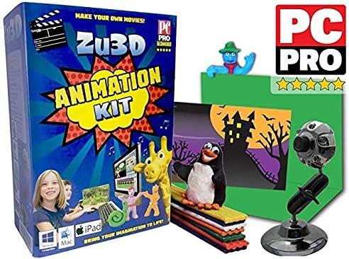 StikBot Dino Movie Set Stop Motion Animation Kit Create Animate Share Activity
