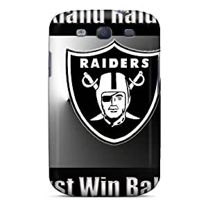 WKg2128TrXW Tpu Case Skin Protector For Galaxy S3 Oakland Raiders With Nice Appearance