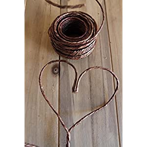 Wayhome Fair Vine Wrapped Rustic Wire 40ft - Excellent Home Decor - Indoor & Outdoor 67