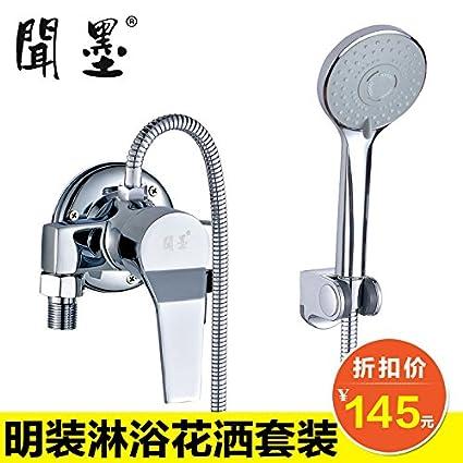 Gyps Faucet Kitchen Faucet Handle Inoxidable Lavabo Grifo El Grifo de la Ducha Ducha Fría y