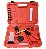 Supercrazy Hand Held Vacuum Pump Pressure Tester Diagnostic With Brake Bleeding Tool Set SF0234