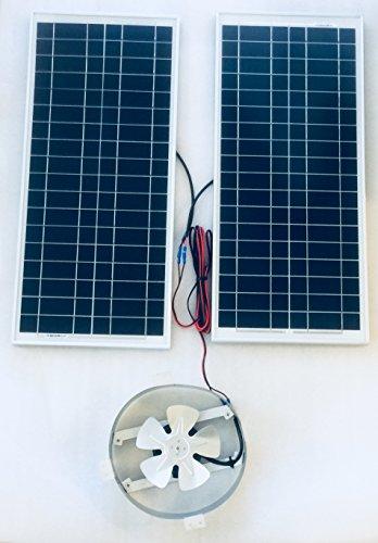 Natural Light Solar Attic Fan Price - 3