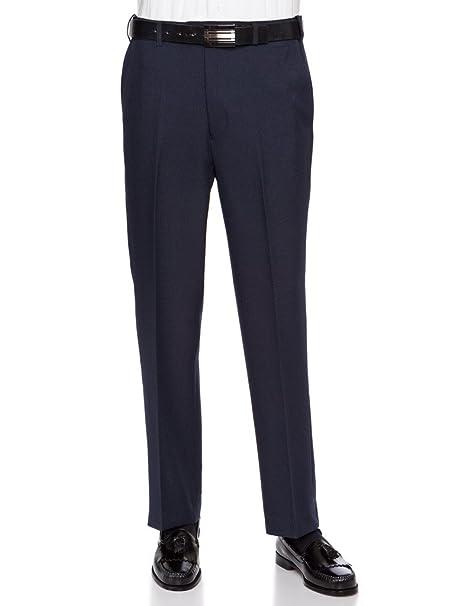 Amazon.com: RGM - Pantalón de vestir para hombre con cintura ...