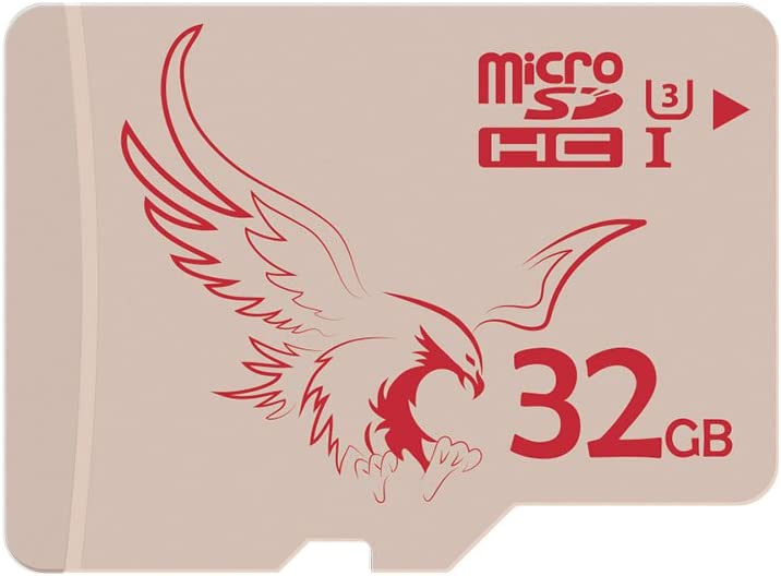 BRAVEEAGLE Micro SD Card 32GB microSDHC Memory Card for Drone/Dashcam (U3 32GB 2 Pack)