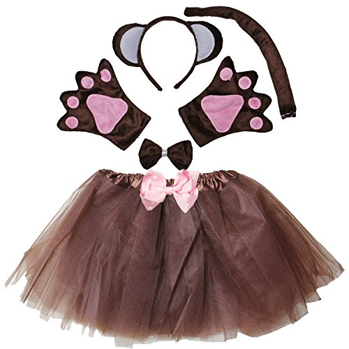 Kirei Sui Kids Monkey Costume Tutu Set -