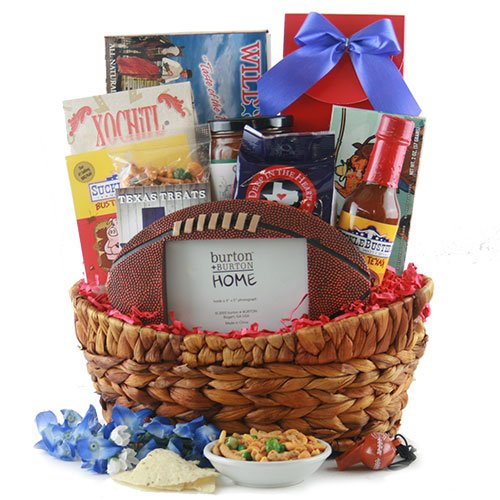 Texas Tailgate <BR> Texas Football Basket by Design It Yourself Gifts & Baskets (Image #1)