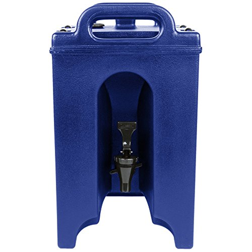 Cambro 100LCD186 Camtainer 1.5 Gallon Navy Blue Insulated Beverage ()