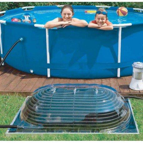 Lot de 2 Cúpula Solar poolstar para estanques de 10 a 20 m3: Amazon.es: Jardín