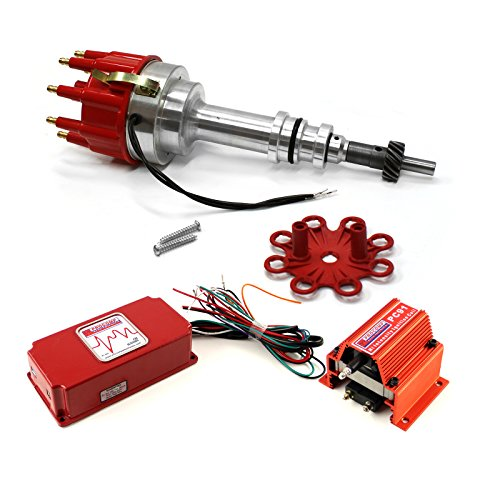Procomp Electronics PCE385.1012 Ford 351C Cleveland Early 460 Pro Billet Distributor 6AL CDI Ignition & Coil Kit ()