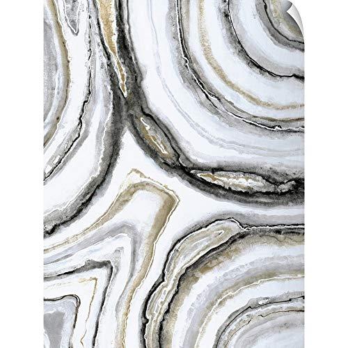CANVAS ON DEMAND Liz Jardine Wall Peel Wall Art Print Entitled Shades of Gray II 12
